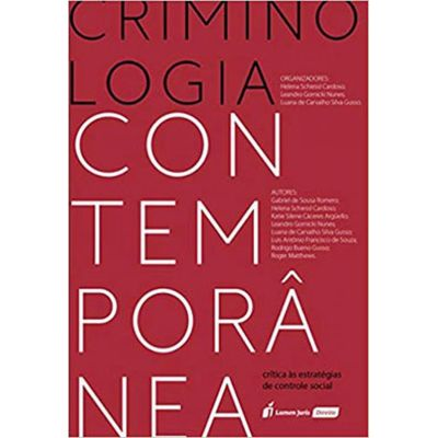 Criminologia Contemporânea