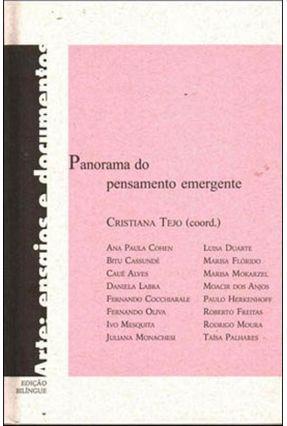 Panorama do Pensamento Emergente - Ed. Bilíngue - Tejo,Cristiana pdf epub