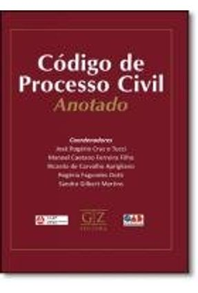 Edição antiga - Código de Processo Civil Anotado - Tucci,José Rogerio Cruz E pdf epub