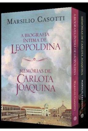 Box Marsilio Cassotti - Memórias De Carlota Joaquina E A Biografia Íntima De Leopoldina - Cassotti,Marsilio pdf epub