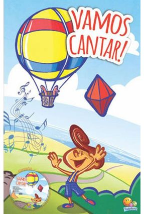 Vamos Cantar! - Acompanha  1 CD - Todo Livro   Nisrs.org