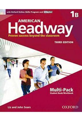 American Headway 1 - Multi-Pack B - Student Book And Workbook - Liz Soars John Soars | Nisrs.org