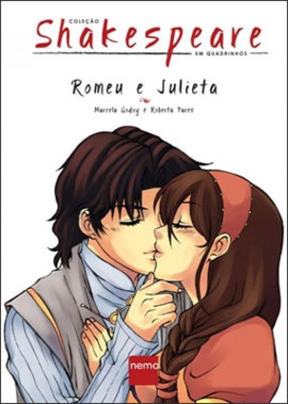 Romeu E Julieta Col Shakespeare Em Quadrinhos Saraiva