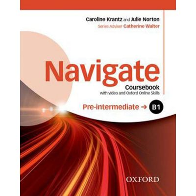 Navigate - Pre-Intermediate B1 - Coursebook With DVD And Online Skills