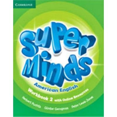 Super Minds American English 2 - Workbook With Online Resources