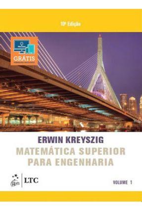 Matemática Superior Para Engenharia - Vol. 1 - Kreyszig,Erwin | Nisrs.org