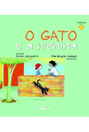 O Gato E A Menina Col Historia Do Coracao Saraiva