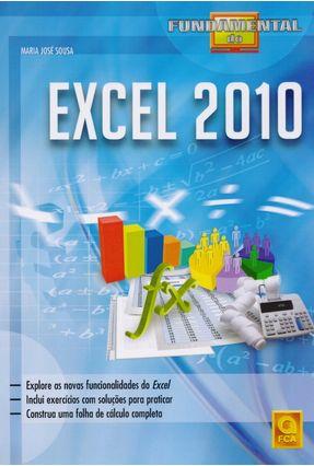 Fundamental do Excel 2010 - Sousa,Maria Jose pdf epub