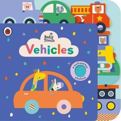 Baby Touch - Vehicles Tab Book