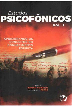 Estudos Psicofônicos - Vol. 1 - GONTIJO,JOMAR | Tagrny.org