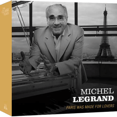 Michel Legrand - Paris Was Made For Lovers - Box Com 3 CDs