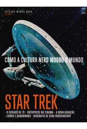 Coleção Mundo Nerd Vol.  1 - Star Trek - Editora Europa   Hoshan.org