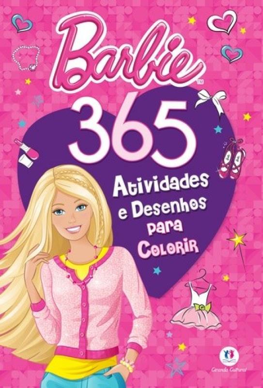 Barbie 365 Atividades E Desenhos Para Colorir Saraiva