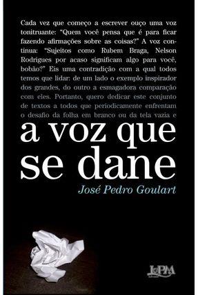 A Voz que Se Dane - Goulart,José Pedro pdf epub