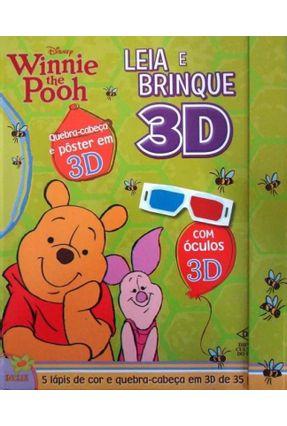 Leia e Brinque 3D - Winnie The Pooh - Disney | Hoshan.org