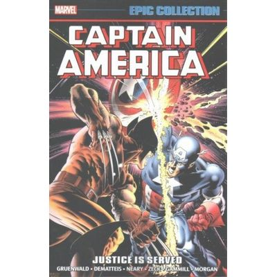 Captain America Epic Collection - Justice Is Served