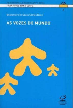Vozes do Mundo - Souza,Boaventura de | Hoshan.org