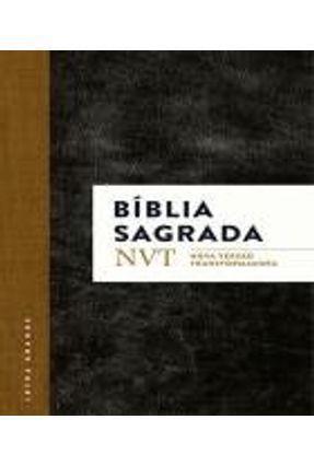 Bíblia Nvt Sagrada - Clássica (Letra Grande/Flexível) - Mundo Cristão Mundo Cristão Mundo Cristão | Tagrny.org