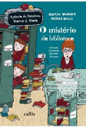 O Mistério Da Biblioteca - Widmark,Martin | Hoshan.org