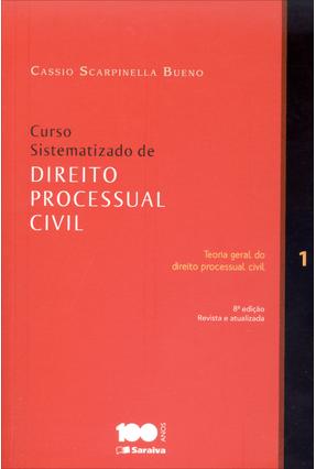 Usado - Curso Sistematizado de Direito Processual Civil - Vol. 1 - Teoria Geral... - 8ª Ed. 2014