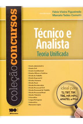 Usado - Coleção Concursos - Técnico e Analista - Teoria Unificada - Cometti,Marcelo Tadeu Figueiredo,Fábio Vieira | Hoshan.org