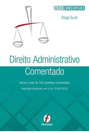 Usado - Direito Administrativo Comentado - Surdi,Diogo pdf epub