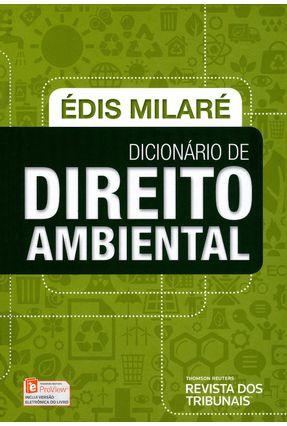 Usado - Dicionário de Direito Ambiental - Milaré,Édis pdf epub
