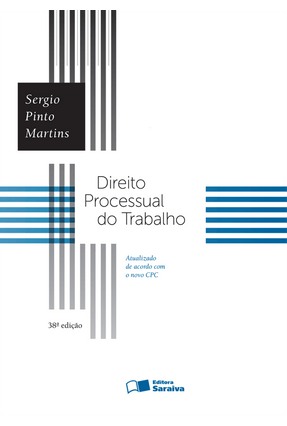 Usado - Direito Processual do Trabalho - 38ª Ed. 2016 - Martins,Sergio Pinto pdf epub