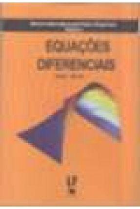 Equações Diferenciais - Série Métodos Matemáticos Para Física e Engenharia - Vol. 3 - L. De Lyra ,Jorge   Hoshan.org