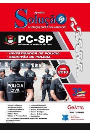 Apostila Investigador De Polícia - São Paulo - Solução,Apostila pdf epub