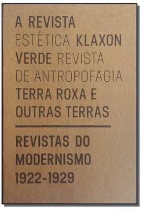 Revista do Modernismo 1922 - 1929 -  pdf epub