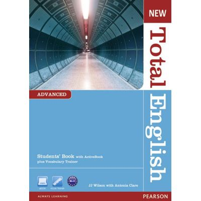New Total English - Advanced - Student's Book With Active Book CD-ROM + Vocabulary Trainer