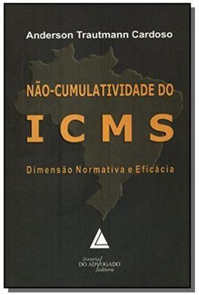 Não - Cumulatividade do ICMS - Cardoso,Anderson Trautmann | Hoshan.org