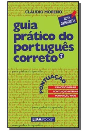 Guia Prático do Português Correto - Vol. 4 - Moreno,Cláudio | Hoshan.org