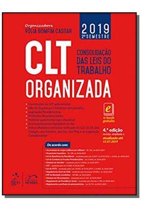 CLT Organizada - Consolidação Das Leis do Trabalho - Vólia Bomfim Cassar pdf epub