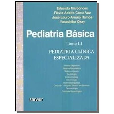 Pediatria Básica - Tomo III - Pediatria Especializada