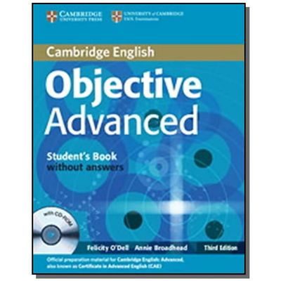 Objective Advanced - Student's Book Without Answers With CD-ROM - 3rd Ed.