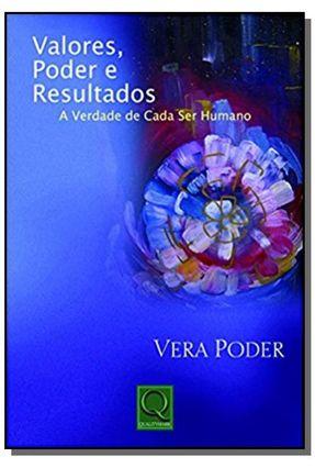 Valores Poder e Resultados - Poder,Vera   Tagrny.org
