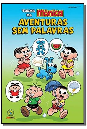 Turma Da Mônica - Aventuras Sem Palavras - Mauricio de Sousa   Hoshan.org