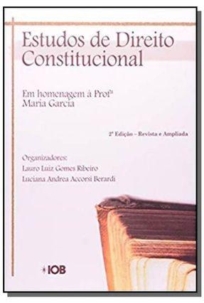 Estudos de Direito Constitucional - 2ª Ed. - Ribeiro,Lauro Luiz Gomes   Hoshan.org