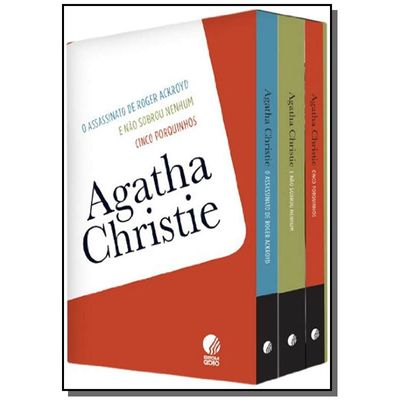 Box Agatha Christie - 3 Vol.