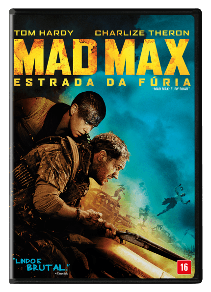 Mad Max - Estrada da Fúria - DVD - Saraiva