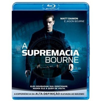 A Supremacia Bourne - Blu-Ray