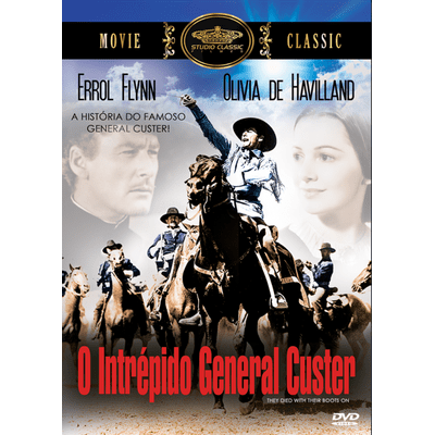 O Intrépido General Custer - DVD