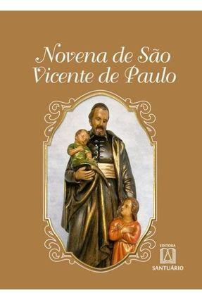 Novena de São Vicente de Paulo - Brustoloni,Júlio   Nisrs.org