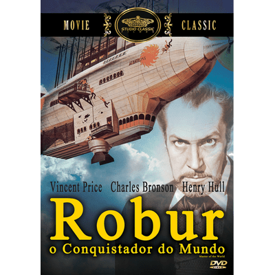 Robur, o Conquistador do Mundo - DVD
