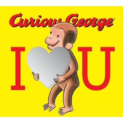 Curious George: I Love You (Board Book With Mirrors)