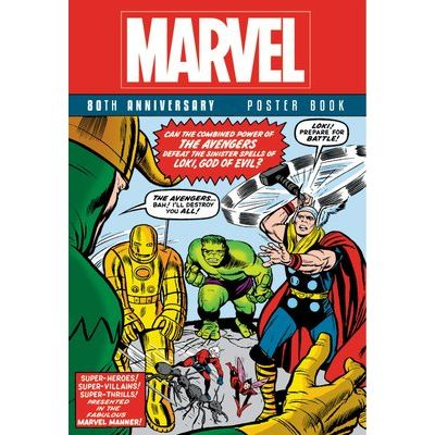 Marvel 80th Anniversary Poster Book
