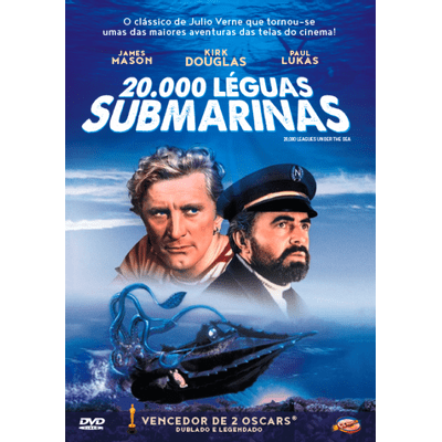 20.000 Léguas Submarinas - DVD