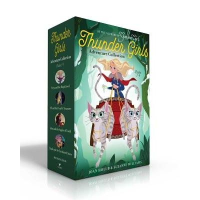 Thunder Girls Adventure Collection Books 1-4 - Freya And The Magic Jewel; Sif And The Dwarfs' Treasures; Idun And The Ap